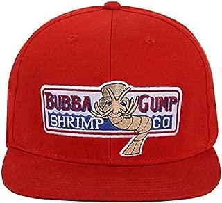 Bubba Gump Hat Shrimp Co. Embroidered Forrest Gump Baseball Cap Adjustable Hat