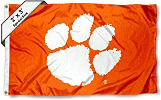 College Flags and Banners Co. Clemson Tigers 2x3 Foot Flag