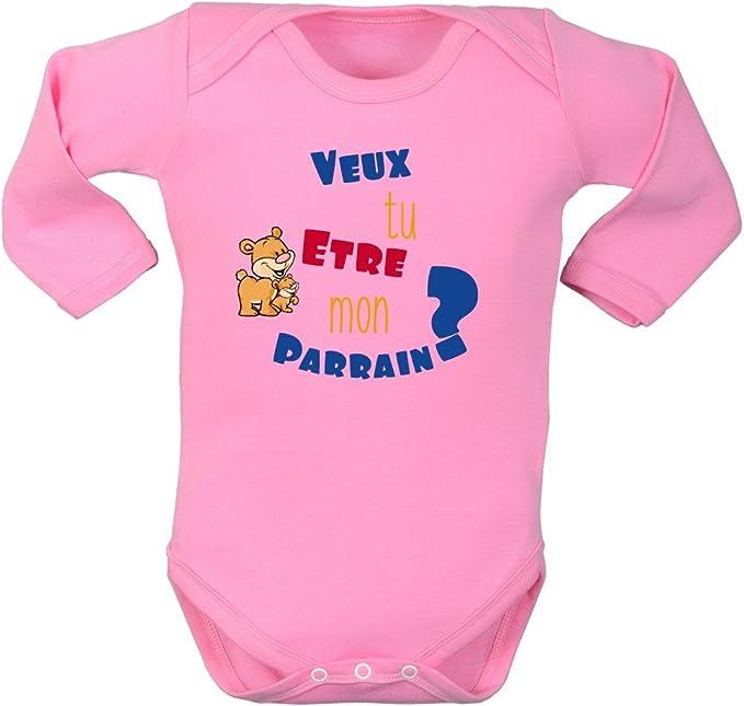 Body bébé personnalisé vous avez parlé de moi pendant 9 mois          100/% coton