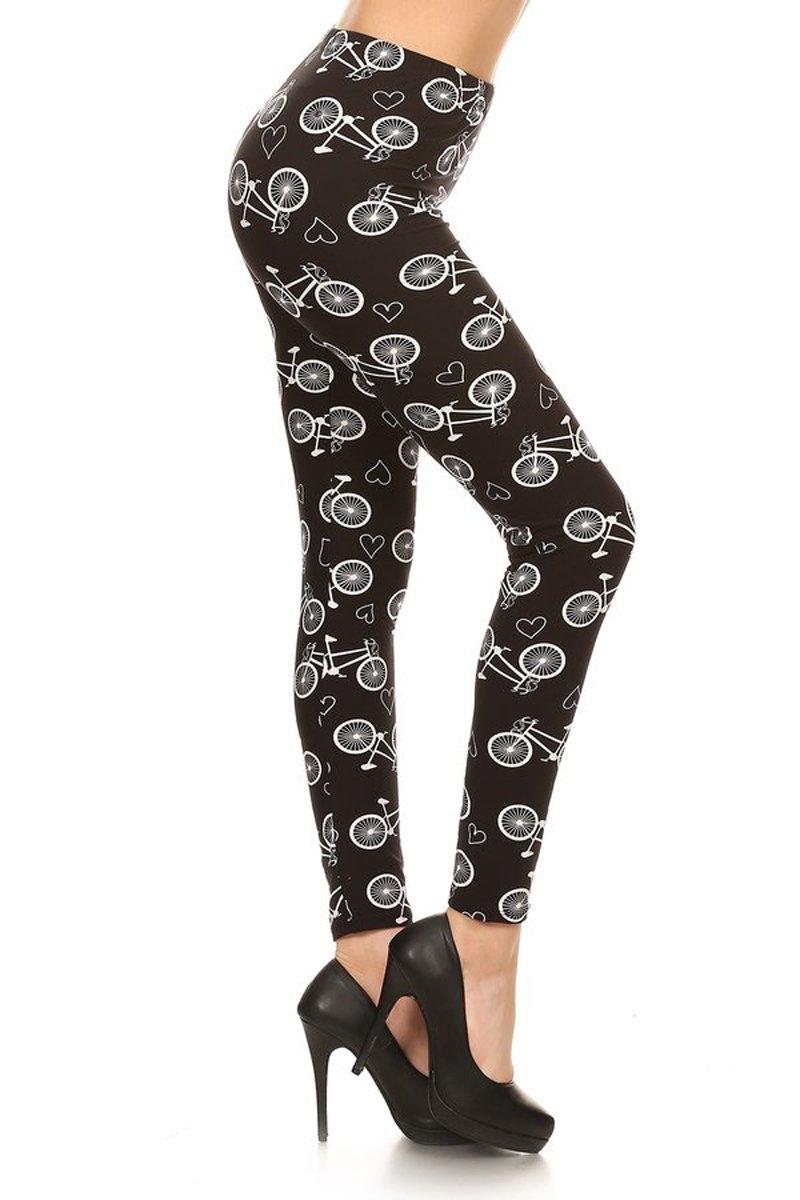 Leggings Depot Womens Popular Buttery Soft Classic Fashion Print Leggings BAT4