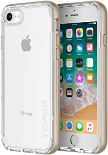 Incipio Octane LUX iPhone 8 Case with Translucent Interior and Metallic Bumper for iPhone 8 - Champagne