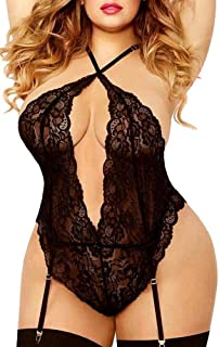 d86fbeb0b Amazon.com  Plus Size - Teddies   Bodysuits   Women  Clothing