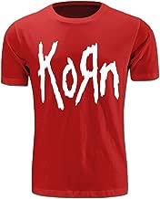 ALLEZ-Y Simple Korn Men's Fashion T Shirt