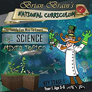 Brian Brain's National Curriculum KS1 Y1 Science Mixed Topics cover art