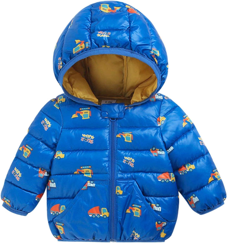 Girls Hooded Coat Toddler 100% quality warranty Baby Coa Cartoon Windproof Popular brand Winter Boys