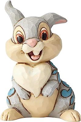 Enesco Disney Traditions by Jim Shore Bambi Thumper Miniature Figurine, 3.1 Inch, Multicolor