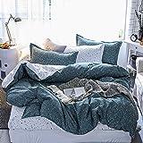 BFMBCH Heiße DREI oder Vier Sätze Bettwäsche, Heimtextilien, Bettbezüge mit Sternenmuster, Spannbetttuch A 220 cm * 230 cm