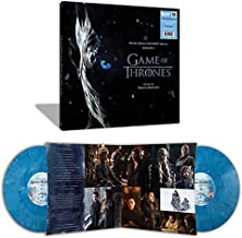 Game Of Thrones Season 7 Exclusive White and Blue Marble 2XLP Vinyl