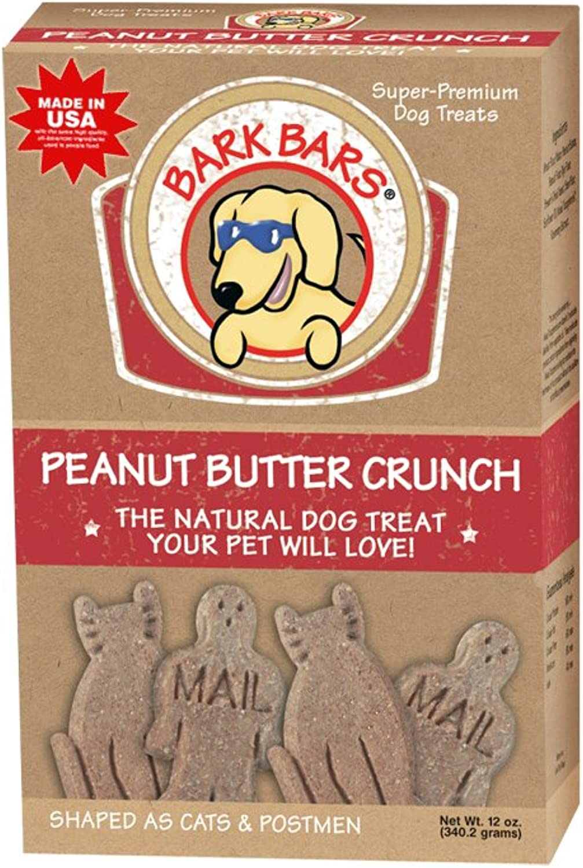 Bark Bars Peanut Butter Crunch Pet Treat, 12Ounce