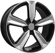 Yx-outdoor Llantas de aleación de 5 radios para Audi Volkswagen (4PCS), 17-20 Pulgadas, P.C.D 5X112 5X114.3 5X108, Agujero Central 73.1 66.45 (4PCS),19 * 8.5J