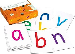 Attractivia Magnetic Alphabet ABC Flash Cards - 36 Lowercase Large Letters - for Teachers, Parents, ESL
