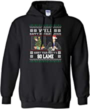 Michael Scott Well Happy Birthday Jesus Sorry Your Party's so Lame Pullover Hoodie 8 oz.
