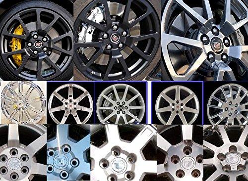 Cadillac 4pcs. Replacement Part 2004-2009 DTS SRX CTS CTS-V XLR Wheel Center Hub Cap