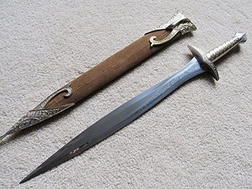 AIT Collectibles S0167 Lord of The Rings Frodo Sting Hobbit Bilbo Baggins Sword Brown Sheath product image