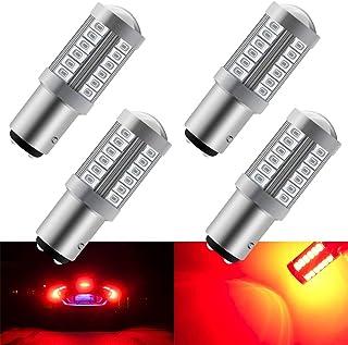 confezione da 4 TUINCYN 1157 BAY15D Lampadina a LED Lampadina freno rossa Lampadina 1016 1034 Luce posteriore Backup Luce retromarcia Indicatori di direzione Luce parcheggio