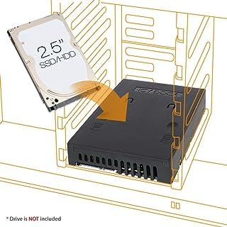 "ICY DOCK Classic 2.5"" to 3.5"" Bay SATA HDD & SSD Converter / Mounting Kit /Bracket - EZConvert MB882SP-1S-1B (Renewed)"