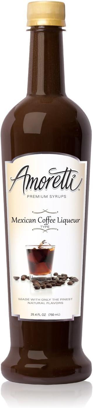 Jarabe de primera calidad, jarabe de licor de caf¨¦ mexicano, jarabe, 25,4 onzas