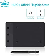 HUION H420 OSU Tablet Graphics Drawing Signature Pad with 3 Express Keys (4-by-2.23 Inches) (Black)
