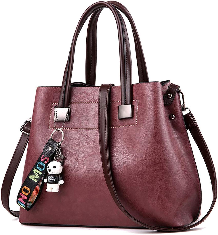 Bolso Women Handbags Tote Vintage Style Shoulder Purses Hobo Satchel Designer Handbag Large Work Bags with Zipper