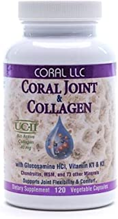 CORAL LLC Coral Joint & Collagen Support 120 Piece, 0.02 Pound