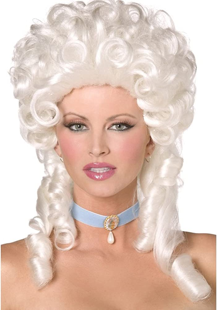 Smiffys Baroque Wig Size Columbus Mall specialty shop One Size: