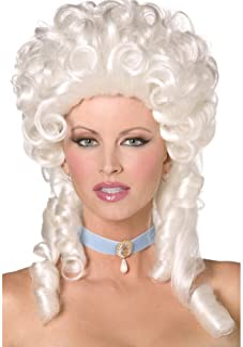 Smiffy's Baroque Wig (White)