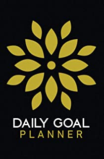 Daily Goal Planner: To Do List Checklist Notebook To Achieve Goals, Increase Productivity, And Time Management.