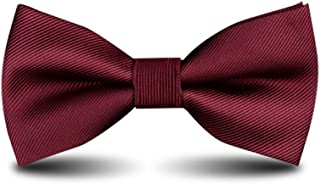 Men's Bow Ties Classic Pre-tied Adjustable for Boy in Gift Box Ties,by Anrinwei