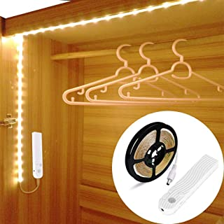 OriFiil 3m Tira LED Luces, Recargable Luz de Armario con
