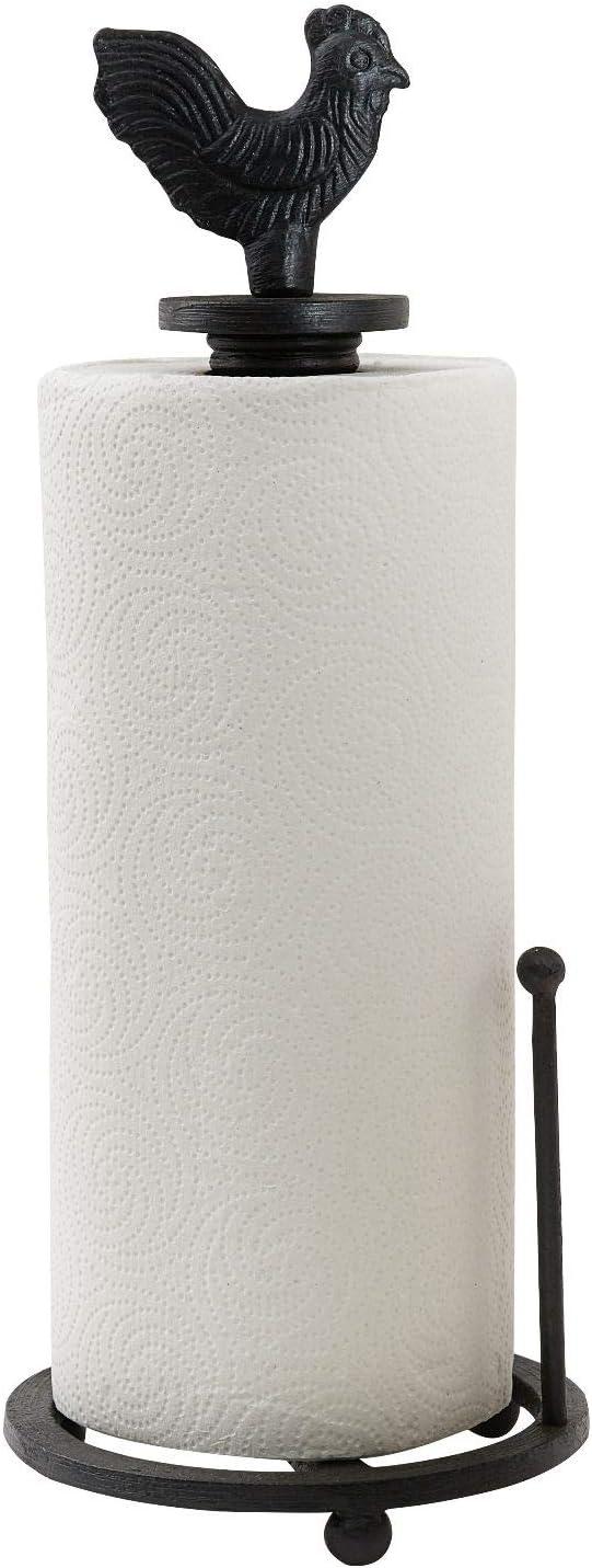 BRT-Style Black rokitchen paper towel M mefarmhouse decor holder Overseas parallel import regular item San Antonio Mall