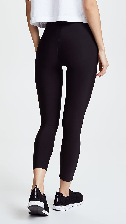 Plush Women's Fleece Lined Cropped Athletic Leggings