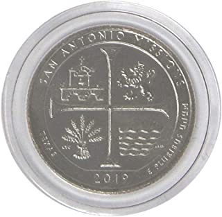 2019 W San Antonio Missions National Historical Park, TX - Great American Coin Hunt - #WQUARTER Quarter Uncirculated US Mint