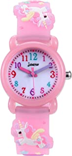 Kids Watch 3D Cartoon Waterproof Toddler Wrist Digital Watch with Alarm StopwatchDesigned for 3-10 Year Boys Girls Little ...