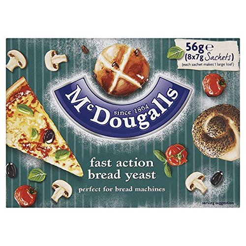 McDougalls Dried Sale item Yeast Sachets Fast Shipping included x 7g 8 Action