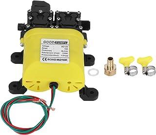 Membraanpomp, 12 V 120 W 8L Membraan hogedrukpomp met koperen connector Automatische waterinjectiepomp voor tuinsproeiers