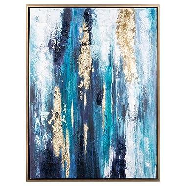 Signature Design by Ashley A8000218 Wall Art, Dinorah Blue