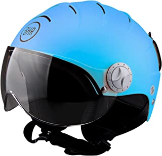 Talla M//58 GIVI HKKV20LB61358 Casco Kv20 Rio Visera Larga Color Azul