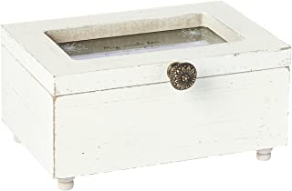 Pavilion Gift Company 77118 Dandelion Wish for You is a Lifetime of Happiness Vintage Style Jewelry Box with Glass Window