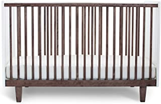Oeuf Rhea Crib, Walnut/White