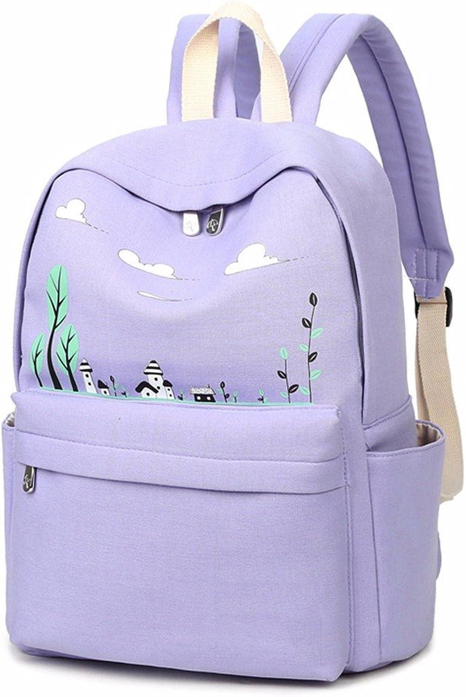 Centro studenti della scuola primaria di borsa borsa di scuola femminile, le piccole appena stampato turistici e per il tempo libero,viola