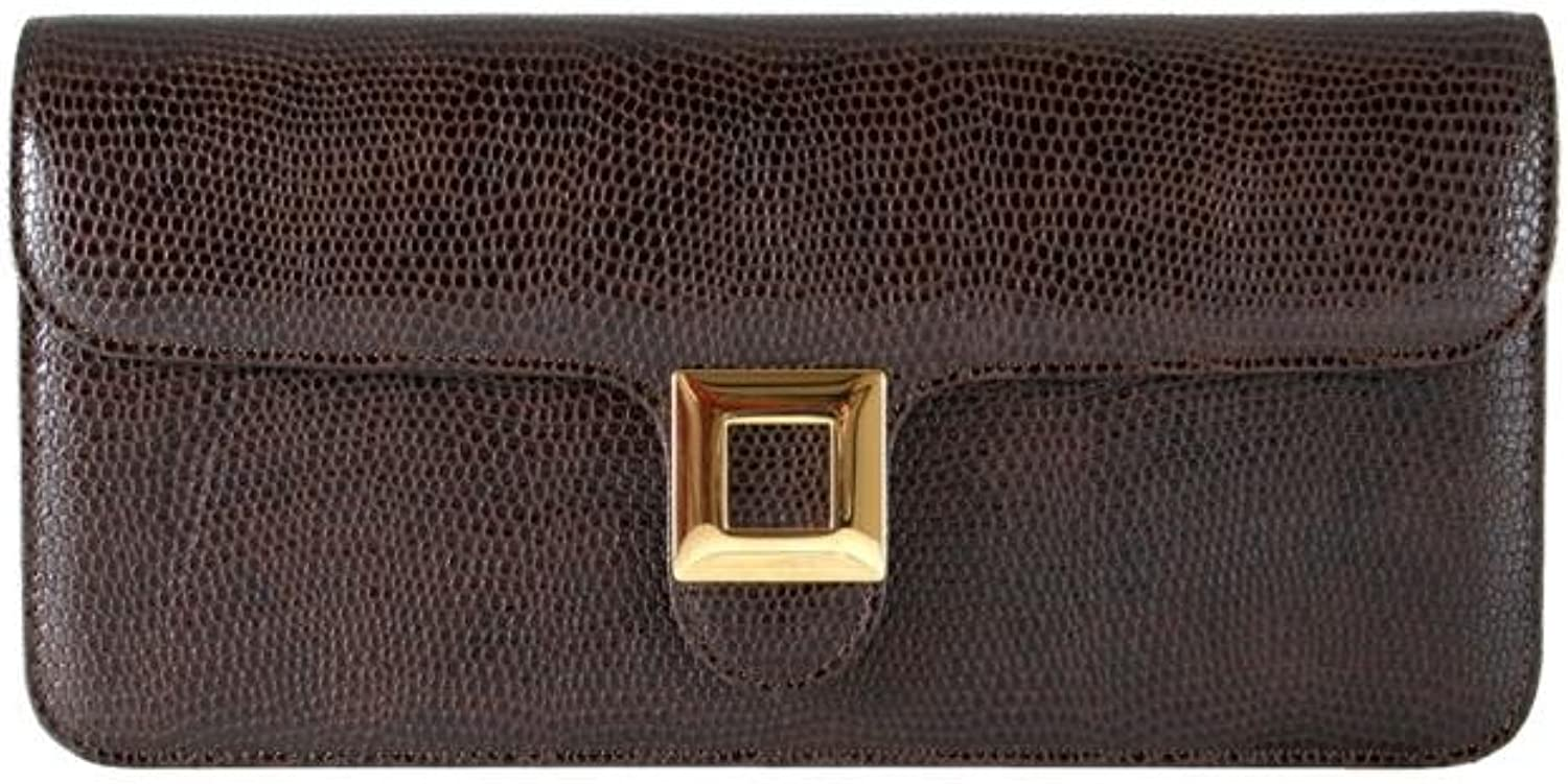GION Diana Women Leather Clutch Evening Bag