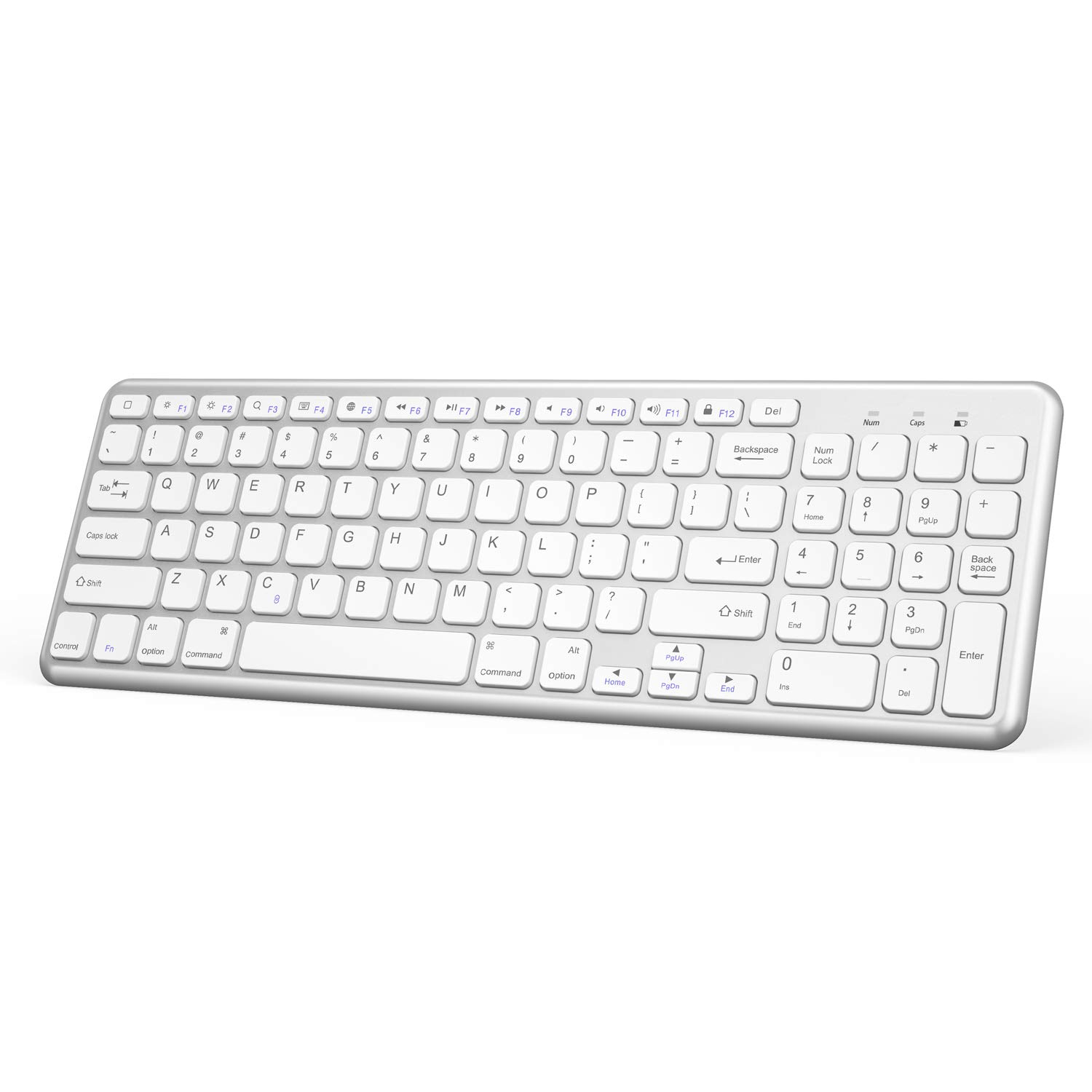 OMOTON Wireless Bluetooth Keyboard Numeric