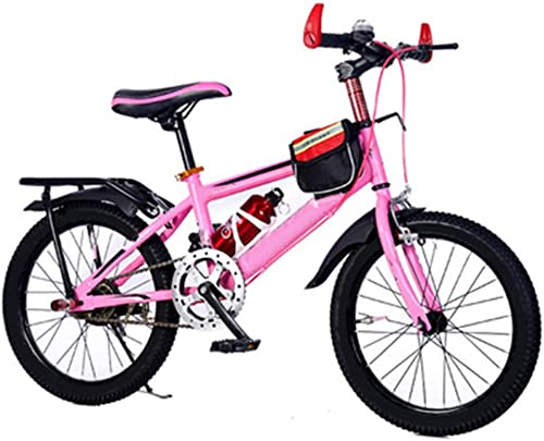 venta caliente en línea Axdwfd Infantiles Bicicletas Bicicletas para Niños de 18 pulgadas, pulgadas, pulgadas, bicicletas para Niños de acero de alto carbono con ruedas de entrenamiento para ciclistas, aptos para Niños de 5 a 9 años de edad, co  barato en línea