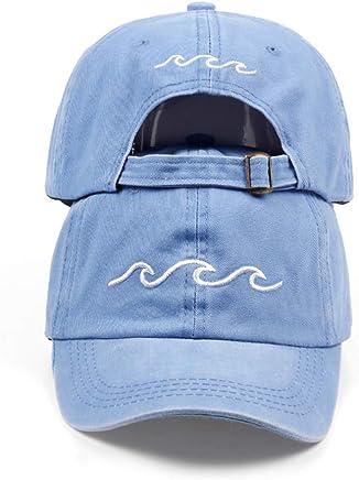 cbdfe121b5622 dad Hats Women Men sea Wave Baseball Cap Unisex Fashion dad Hats New Sports  Hats Black