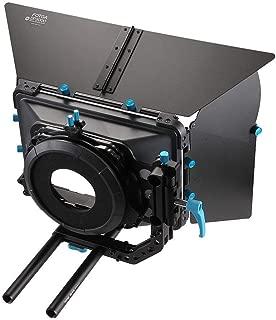 FOTGA DP3000 Professional Swing-Away Matte Box Sunshade DSLR Video Rig with 15mm Rod Rig for Rail Rod Baseplate Rig for DSLR Camera 5D Mark III, VI, 6D Mark VI, 7D, A9 A7