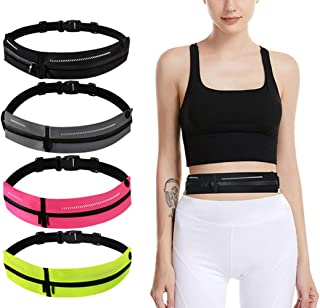SKPower Running Belt Waist Packs - Runners Exercise Belt Sweatproof Fitness Hiking Walking for iPhone 11/11 Pro/Xs Max/Xs/XR/8/8P/Samsung S10P/Note 10P/Huawei, All Devices up to 6.8 inches