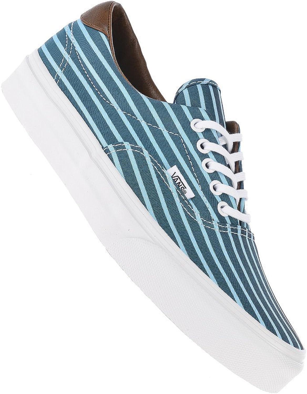 Vans Unisex Era 59 Stripes Sneakers blueetruewhite M3.5 W5