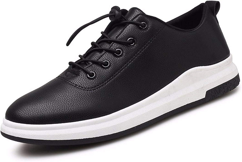 KMJBS Men'S shoes Spring Leather shoes Autumn shoes Waterproof And Anti Slip Leather shoes Autumn Odour.