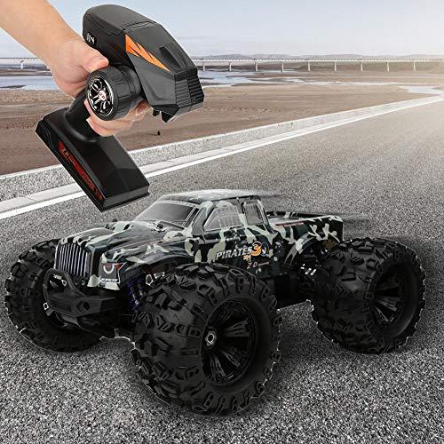 Pbzydu Ferngesteuertes Auto, 90 km/h schnelles Geländewagen, 2,4 GHz schwanzloses elektrisches Kettenauto im Maßstab 1: 8, Hobby Spielzeuggeschenk für Erwachsene und Kinder
