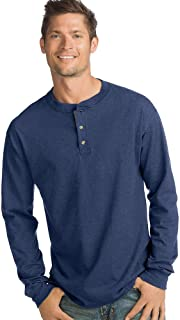 Men's Beefy-T Long-Sleeve Henley